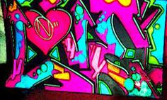 Graffiti has gone from vandalism to high art - and Miss Van's graffiti art is at the top of the charts! Featured in museums around the wor. Love Graffiti, Graffiti Words, Graffiti Styles, Graffiti Lettering, Graffiti Wallpaper, High Art, Art Forms, Street Art, Neon Signs