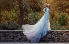 .fantasy dress long and white