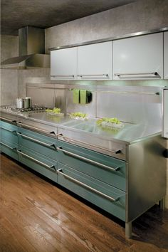 St. Charles by Viking - powder coated stainless steel cabinets