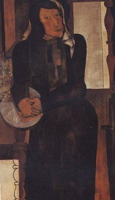 by Jankel Adler (Polish 1895 - 1949)
