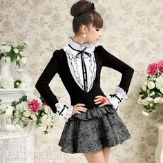 too expensive Kawaii Clothes, Kawaii Outfit, Dress Up Costumes, Daily Look, Wholesale Fashion, Fashion Details, Autumn Fashion, Girly, Victorian
