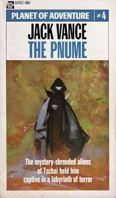 JEFF JONES - The Pnume by Jack Vance - 1970 Ace Books