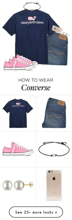 """My sample set☁️"" by ellababy13 on Polyvore featuring Abercrombie & Fitch, Vineyard Vines, Converse, Miadora and Incase"