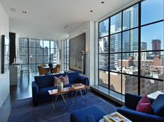 Phenomenal Five-Story Penthouse in Tribeca | HomeDSGN, a daily source for inspiration and fresh ideas on interior design and home decoration...