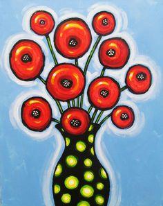 Poppies and Polka Dots - VisArts at Rockville