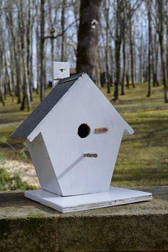 Wooden Birdhouses. Handmade By Cor van de Velde Petite Maison Daglan