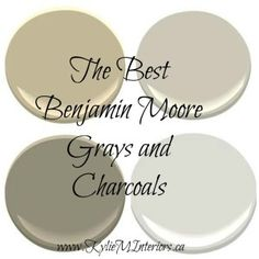 The Best Benjamin Moore Paint Colours – Grays (Including Grays with Undertones). Revere Pewter, Chelsea Gray and more… The Best Benjamin Moore Paint Colours – Grays (Including Grays with Undertones). Grey Beige Paint, Best Gray Paint Color, Greige Paint Colors, Neutral Paint Colors, Paint Color Schemes, Interior Paint Colors, Paint Colors For Home, Charcoal Paint, Wall Colors