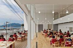 OB Kindergarten and Nursery in Nagasaki, Japan   HIBINOSEKKEI + Youji no Shiro