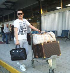 david minaj louis vuitton luggage and birkin hermes