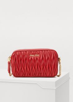 18ebe94aaa8e9 Miu Miu Quilted cross-body bag Online Bags