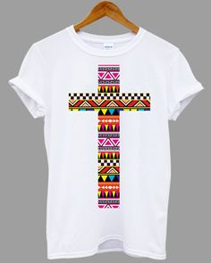 aztec cross Tribal Tribe Pattern Retro Geometric Popular Item on etsy for Funny Shirt, T shirt Mens and T shirt ladies size S, M, L, XL, XXL