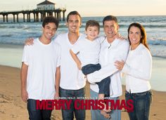Custom designed holiday cards from Kat Monk Photo