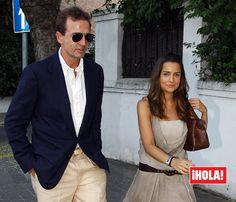 Alessandro Lequio y María Palacios, tranquilos y de vacaciones, ajenos a la polémica
