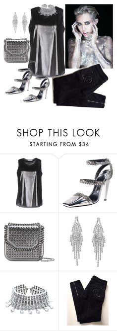"""""""Black and Silver"""" by dobesht ❤ liked on Polyvore featuring LIU•JO, Tom Ford, STELLA McCARTNEY, Humble Chic, Child Of Wild and Alexander McQueen"""
