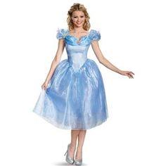 Cinderella Movie Deluxe Adult Womens Costume - 354737 | trendyhalloween.com #womenscostumes