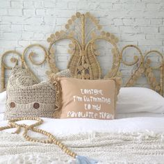 Peacock Bedhead | Classic | Queen | Natural | SOLD OUT – AU FAIT LIVING Girls Bedroom, Bedroom Ideas, Bedrooms, Boho Room, Bed Head, Image Shows, Peacock, Kids Room, Queen