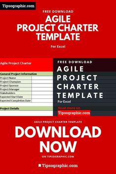 Agile project charter template Project Management Free, Change Management, Project Methodology, Project Charter, Excel Hacks, Agile Software Development, Disruptive Technology, Instructional Design, Business Education