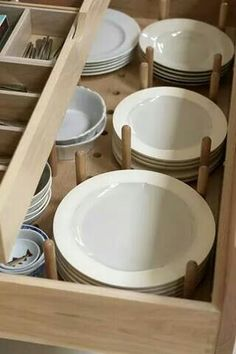 Kitchen drawers. Sturdy/organized/accessible