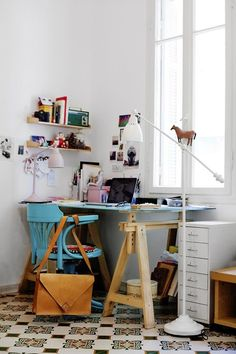 Inspiration : 10 Beautiful Eclectic Home Offices