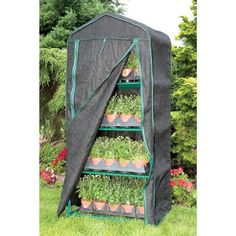 4Season 4Tier Mini Greenhouse -- See this great product.(This is an Amazon affiliate link and I receive a commission for the sales)