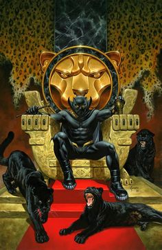 Black Panther Jusko Marvel Knights Anniversary Variant First Print 2018 Black Panther Marvel, Black Panther Storm, Black Panther Art, Marvel Comics Art, Marvel Heroes, Marvel Avengers, Comic Books Art, Comic Art, Panther Pictures