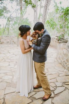 How We Planned a $30K Wedding in the Malibu Canyon Hills for 100 Humans and One Dapper Puppy