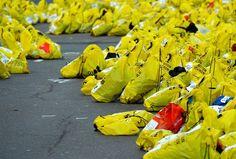 Life disrupted: Eerie scenes after Boston Marathon bombings - PhotoBlog