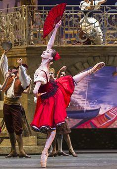 "<<Margarita Shrainer as Kitri in ""Don Quixote"" # Bolshoi Ballet # London, Royal Opera House 25 July 2016 # Photo © Foteini Christofilopoulou # The Bolshoi Ballet season opens with the London premiere of a new restaging of Alexei Fadeyechev's staging of Petipa's ""Don Quixote"" at the Royal Opera House, 25-28 July 2016>>"