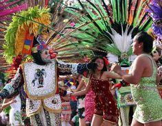 Puebla y Tlaxcala se fusionan en el carnaval de Totolac - Vanguardia