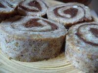 Raw Cinnamon Rolls