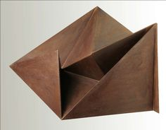 Abstract Steel Sculpture by Gerald Di Giusto.