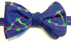 Bow Tie with colorful DNA by ReiserCreations on Etsy