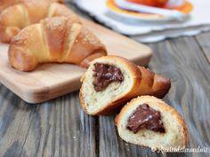 Ricetta per Brioche alla Nutella con esubero di pasta madre Croissant, Biscotti, Cake & Co, Sourdough Bread, Cupcake Cookies, Cupcakes, Pretzel Bites, Bakery, Sweet Treats