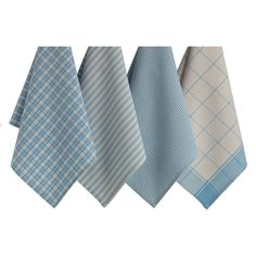 Dusk Blue Dishtowel (Set of 4).  20Lx18W  Today $25.49 was $31.49 -only 9 days left (today:W 3/16)