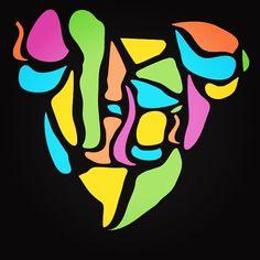 Check out my #concept #idea #multicolor #koala #koalabear #art #realdope #design