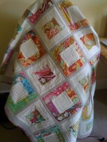 a reversible Quilt as you go tutorial