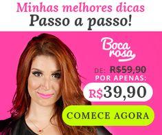 Conheça o Curso de Maquiagem Profissional Boca Rosa R$ 39,90. Apresentado pela Bianca Andrade, esse curso conta com 26 vídeo aulas e um super certificado! Saiba mais!