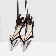 Image 3 de BALLERINES À BRIDES de Zara