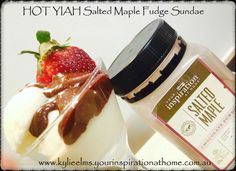FriDAE, SaturDAE , SUNDAE !!!!  Anyday is good for a SUNDAE ....  YIAH HOT Salted Maple & Pecan Fudge  Oh My Goodness, which Chocolate Powder will you choose to make your day a FUNDAE !!!   No Artificial Colours or Flavours, No Numbers or Fillers makes YIAH Chocolate Powders perfect for EVERYDAY  Find this and 13 more awesome flavours at www.kylieelms.yourinspirationathome.com.au