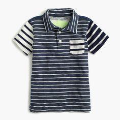 J.Crew - Boys' mash-up polo shirt