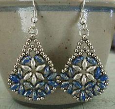 Linda's Crafty Inspirations: Northern Star & Bethany Set - Blue Picasso & Silver