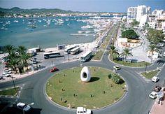 The Egg and the centre of Ibiza Life - San Antonio Ibiza Menorca, Ibiza Formentera, Holiday Destinations, Travel Destinations, San Antonio Ibiza, Places Around The World, Around The Worlds, Ibiza Island, Best Hotel Deals