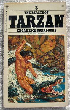 Edgar Rice Burroughs The Beast of Tarzan PB Ballantine 02703 Book 3 |