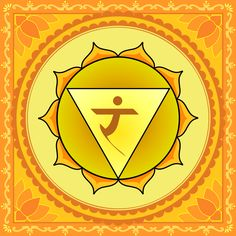 """°Solar Plexus Chakra ~ The Manipūra Chakra literally means the """"City of Jewels"""", in which we find the pearls of clarity, wisdom, self-confidence & wellbeing. Their lustre radiates down to the lower Chakras as well as up to the Heart Centre (Anāhata Chakra). The feelings of love & happiness that we feel in our heart actually originate in the Manipūra Chakra & rise from there to the Anāhata Chakra."""