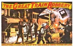 The Great Train Robbery (1903). Directed by Edwin S. Porter.