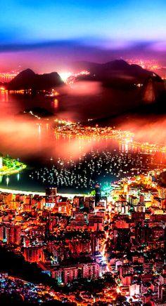Rio de Janeiro, Brazil  - by Cris Figueired♥