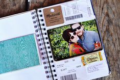 Make this kinda DIY Travel Jornal thing