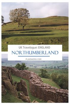 UK Travelogue - Day Six: The Long and Winding Road. Explore Hadrian's Wall and Walltown Crags. Hadrian's Wall, Colors Of Fire, Irish Sea, Winding Road, North Sea, Travelogue, About Uk, England, Explore