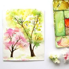 You can paint beautiful watercolor art even if you have no skill or experience with this tutorial.