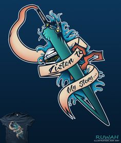 My Story (Final Fantasy X) available on t-shirt by Ruwah
